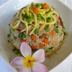 Chinese Sausage Fried Rice Recipe