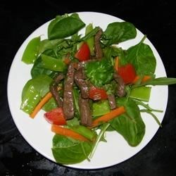 Photo of Thai Steak Salad by Inspired by Home Cooks