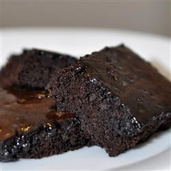 Photo of Make-Ahead Glazed Brownies by Barbara  Robbins