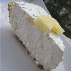 Frozen Pineapple Pie Recipe