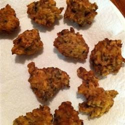 Grammy's Clam Fritters Recipe