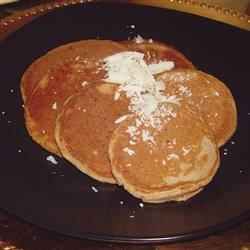 Banana-White Chocolate Pancakes Recipe