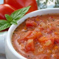 Jersey Fresh Tomato Soup