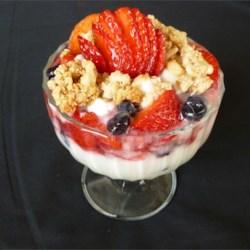 vanilla berry parfaits recipe photos