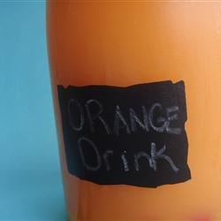 Orange Drink Recipe
