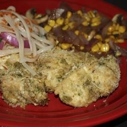 Thai Breaded Chicken Filets Recipe