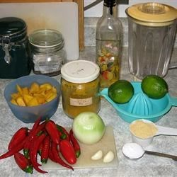 Hot Pepper Sauce - A Trinidadian Staple Recipe