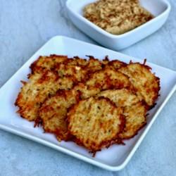 spicy ranch cauliflower crackers printer friendly