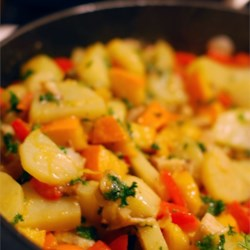Winter Vegetable Hash Recipe