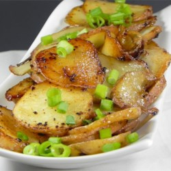 BBQ Potatoes with Green Onions Recipe
