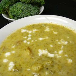 Broccoli and Stilton Soup Recipe