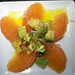 Lisa's Grapefruit and Avocado Salad Recipe