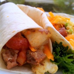 Tasty Breakfast Burritos Recipe