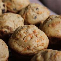 Photo of Dark Carrot Raisin Muffins by sal