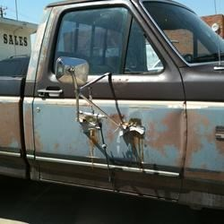 HAHA!! A Redneck Fixin'up Job! Hysterical!