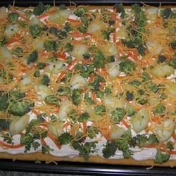 Vegetable Pizza II