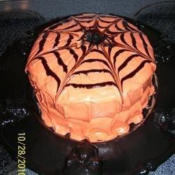 Chocolate Cake - for Halloween