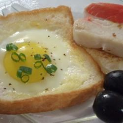 Egg in a Boat Recipe