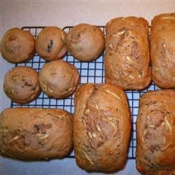 Whole Wheat Zucchini Bread Recipe
