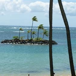 View of Kahala Beach