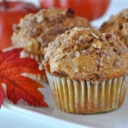 whole wheat pumpkin applesauce muffins printer friendly