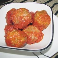 Three Animal Italian Meatballs Recipe