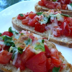 Lazy Bruschetta Recipe