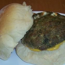 goat cheese and spinach turkey burgers photos