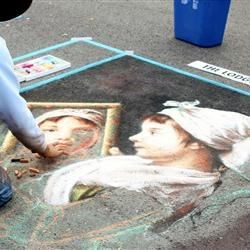 Sidewalk Art Expo in Grants Pass, Oregon