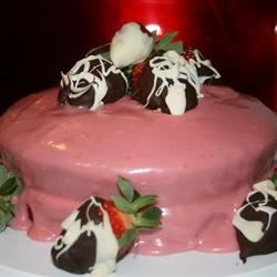 Strawberry Cake Yum!