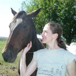 Me with an Argentinian horse