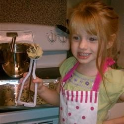 The littlest baker in the family :)