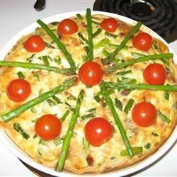 Image of Asparagus Quiche, AllRecipes