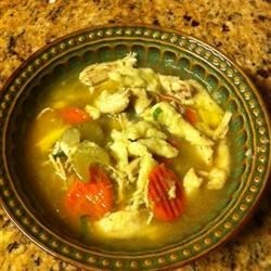 Photo of Spaetzle and Chicken Soup by CARLY819