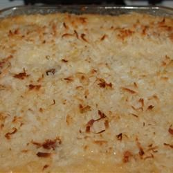 Coconut Kugel Recipe