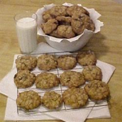 Vanishing Chocolate Oatmeal Cookies
