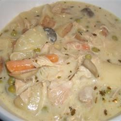 Creamy Homemade Chicken Stew Recipe