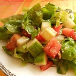Lebanese Rubbed Salad Recipe