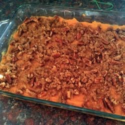 Yummy Sweet Potato Casserole