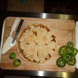 Green Tomato Pie I