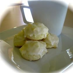 Photo of Glazed Lemon-Cream Cheese Cookies by KristaMW
