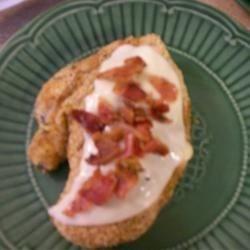 Muenster-Bacon Stuffed Chicken Breast