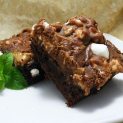 Rocky Road Bars from Crisco(R) Baking Sticks