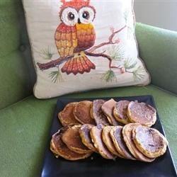 Even owls love pumpkin pancakes...