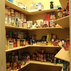 Filled Pantry...and boy does it feel great!