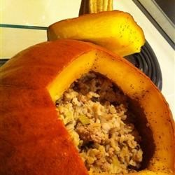 Stuffed Pumpkin I Recipe