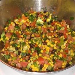 delicious black bean salad