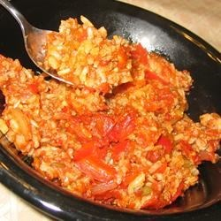 Spicy Sausage & Rice Casserole (September 14, 2010)