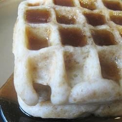 Photo of Cornflake Waffles with Honey Sauce by Grace Gay