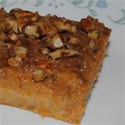 Pumpkin Pecan Pie Squares Recipe